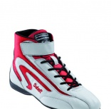 Botines FIA Sabelt Light Mid White/Red